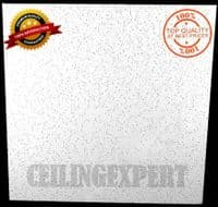 ND Fissured Suspended Ceiling Tiles 595 x 595mm 8 Tiles in Sealed Box.